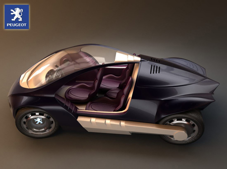 peugeot stylight car concept