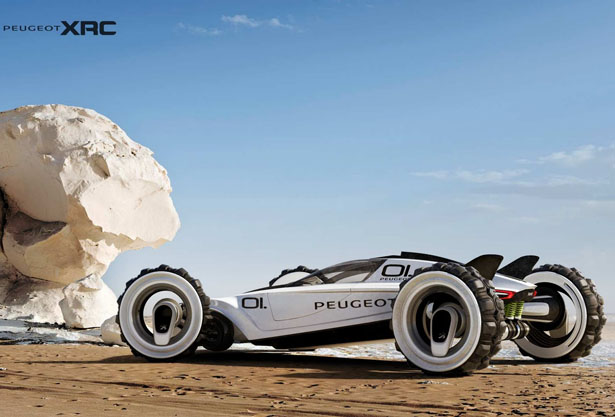 Peugeot XRC : Extreme Racing Car by Tiago Aiello
