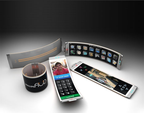 Fluid Wearable SmartPhone by Dinard da Mata