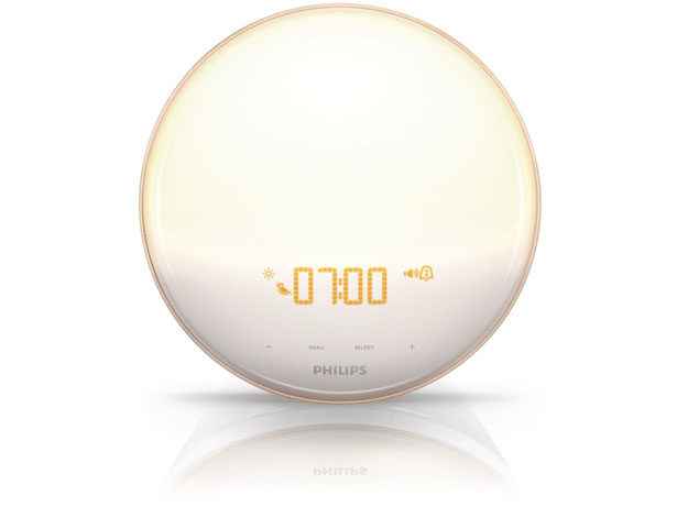 Philips HF3520 Wake-Up Light With Colored Sunrise Simulation to Wake You Up with Better Mood In The Morning