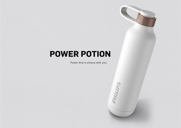 Philips Power Potion 3000 Power Bank by Catherine Wong