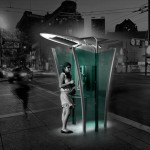 PhoneBox : A Modern Phone Booth by Hakan Gursu