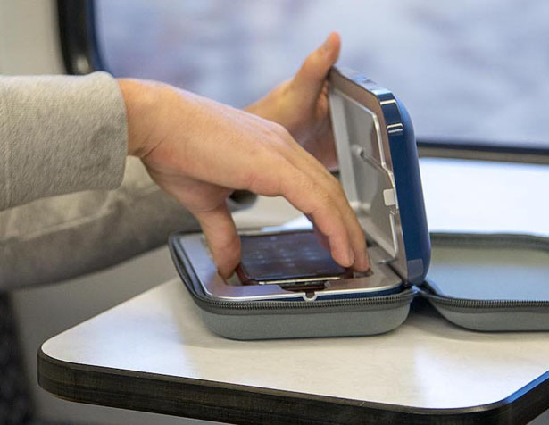 PhoneSoap Go : UV Sanitizer and Powerbank in One Kills 99.99% Germs from Your Phone