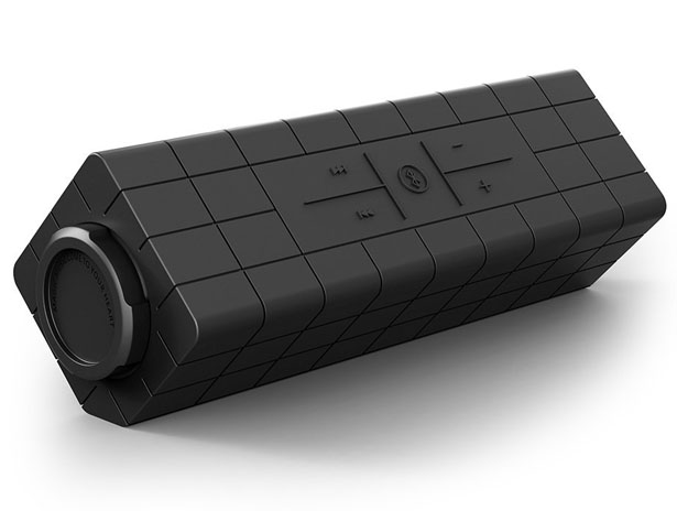 Photive HYDRA Rugged Water Resistant Wireless Bluetooth Speaker
