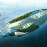 The Physalia Vessel with its Amphibious Garden Can Contribute to the Environment and Produce Positive Energy