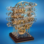 Physicist's Perpetual Motion Clock Features Complex Work of Art