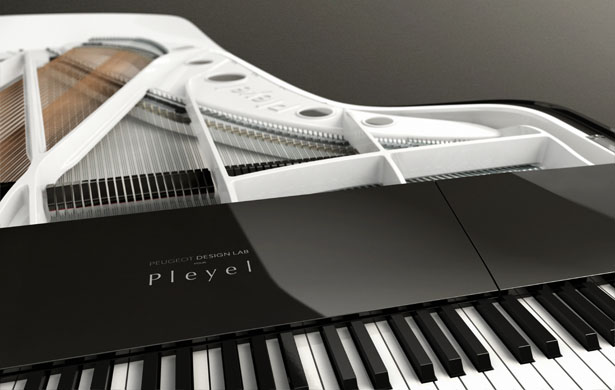 Piano Design by Peugeot Design Lab