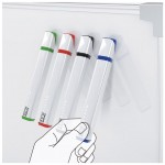 Pick UP Whiteboard Marker Features Triangular Body Shape and Magnetized Cap