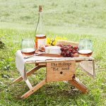 Picnic Carrier Transforms into Small Picnic Table