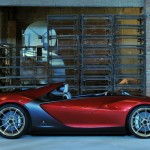 Pininfarina Sergio Features Virtual Windscreen and Gull-Wing Doors