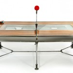 Pingtuated Equilibripong : Ping Pong Table and Dining Table In One by Akke Functional Art