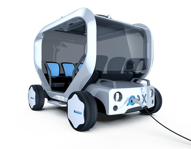 PIX Modularized Affordable Sharing Vehicle