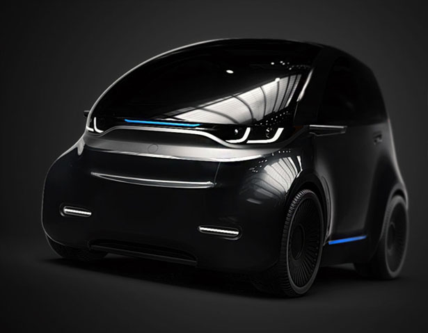 PIX Short Electric Urban Vehicle by 2sympleks