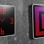 Pixlclock Multicolor LED Clock Offers An Interactive Way To Tell The Time