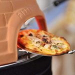 Pizzarette Countertop Pizza Oven with a Real Terracotta Dome