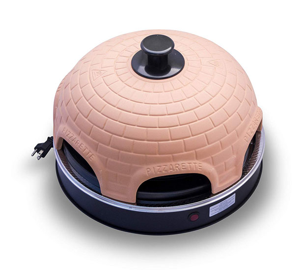 Pizzarette Countertop Pizza Oven With A Real Terracotta