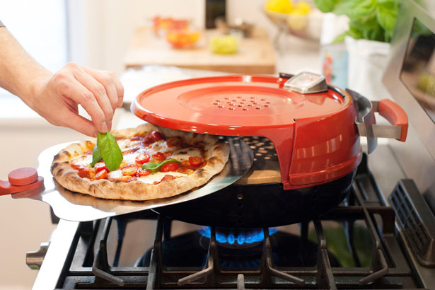 Pizzeria Pronto Stovetop Pizza Oven by Pizzacraft