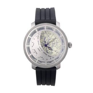 Planisphere Watch for an Astrophysicist or a Star Gazing Lover
