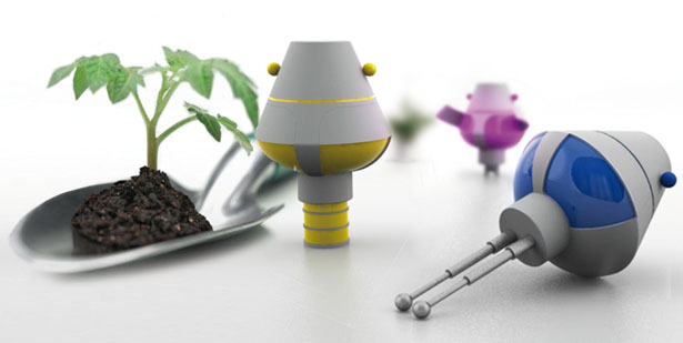 Plantoy Plant Accessories by Elodie Delassus