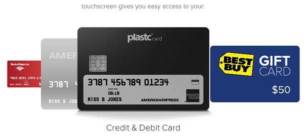 Plastc Card Universal Payment Tool