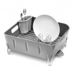 Plastic Compact Dishrack from SimpleHuman