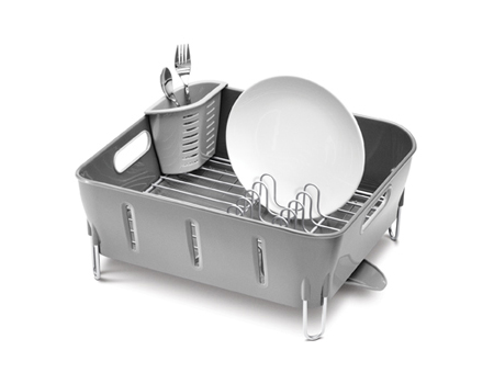 Plastic Compact Dishrack From Simplehuman Tuvie