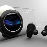 Conceptual Playstation 4 with Glass Touchscreen Panel