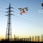 Futuristic PLC28 Helicopter for Control and Maintenance of Power Lines in 2028