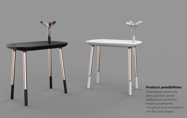 Plexus: Modular Metal Joinery by Subinay Malhotra