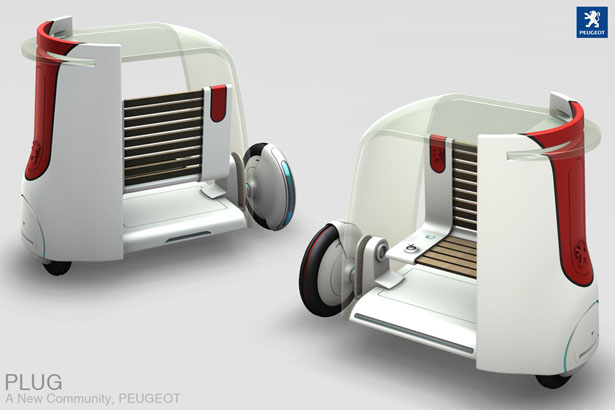 PLUG Community Vehicle Design by Minchul Kim