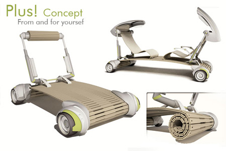 PLUS! Concept Vehicle for Future Megalopolis