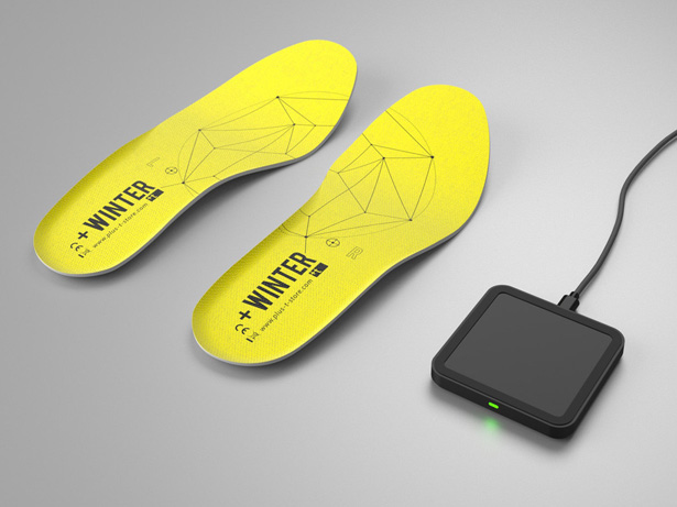 +Winter Insoles Keep Your Feet Warm by +t