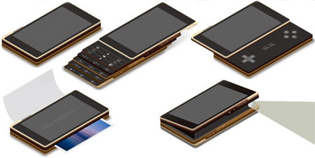 ply multilayered phone concept