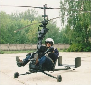 Bring Your Helicopter Anywhere with You !