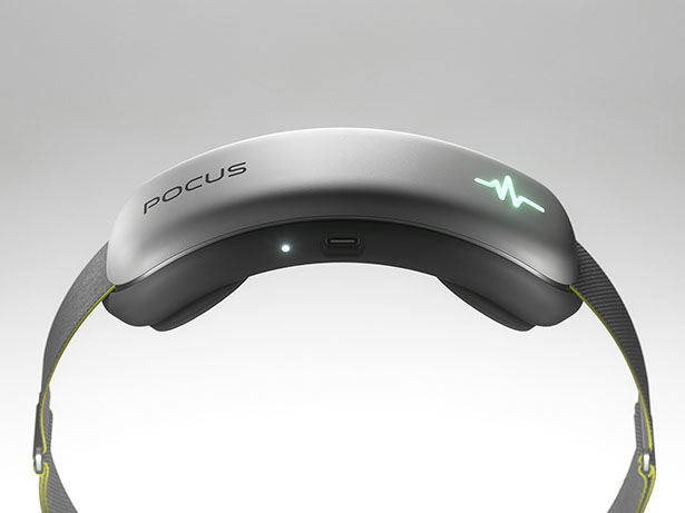 Pocus Wearable Device For Your Brain Health by Acasso