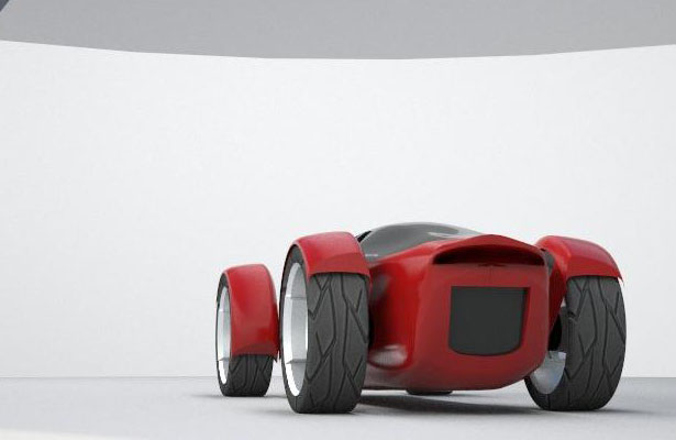 Pod Single-Seat Urban Vehicle