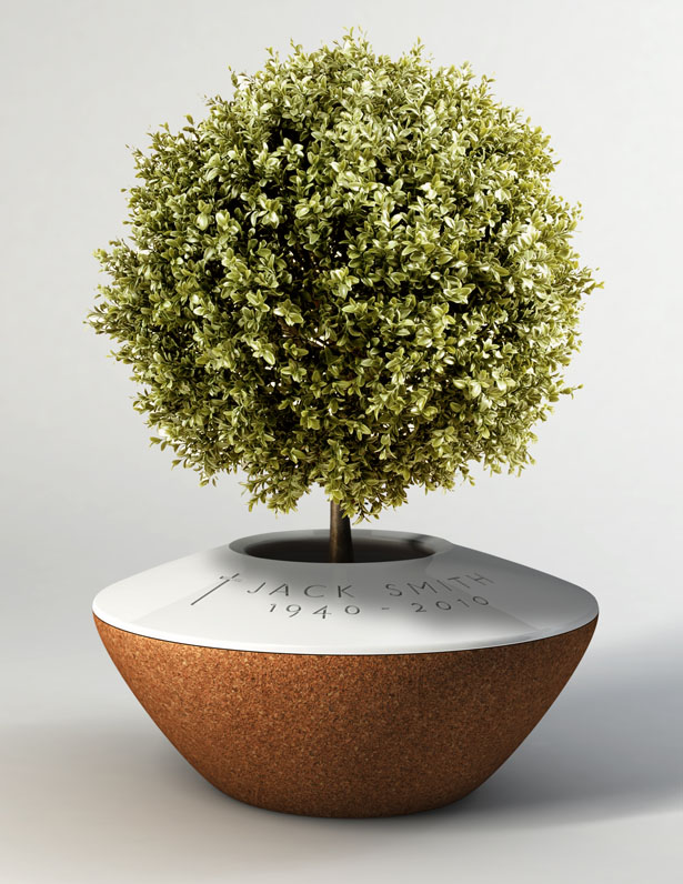 POETREE Funeral Urn by Margaux Ruyant