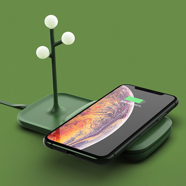 Poetry-Electricity Wireless charger, Power bank, Atmosphere by Yong Zhang and Lei Wang - Top 20 A' Design Award Winners