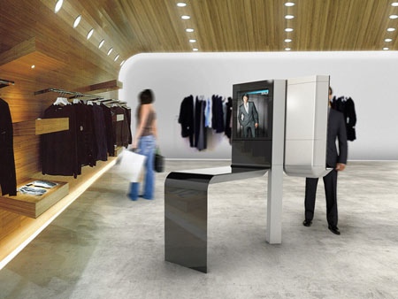 conceptual point of sale by frogdesign