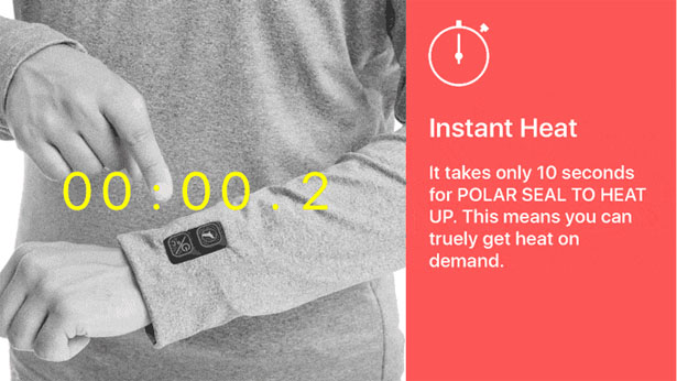Polar Seal Heated Tops
