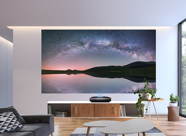 Bomaker Polaris 4K UHD Ultra Short Throw Laser TV Promises Full Color Laser Technology for Stunning Imagery and an Immersive Viewing Experience