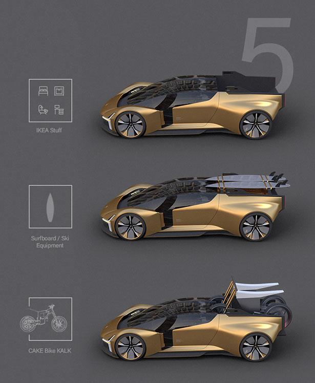 Polestar Electric Hypercar x Sports Pickup by Matthias Walz