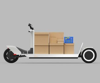 Polestar Re:Move Electric Delivery Scooter Is Capable to Handle Up To 275kg Payload