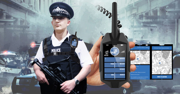 Police Communication and Computing System by Daniel To