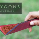 Polygons Measuring Spoon by Rahul Agarwal