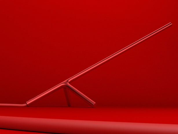 Polyline Desk Lamp by Dustin Brown