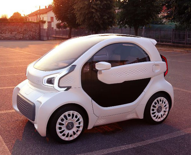 Polymaker x XEV LSEV 3D Printed Electric Car - Cheap Electric Car