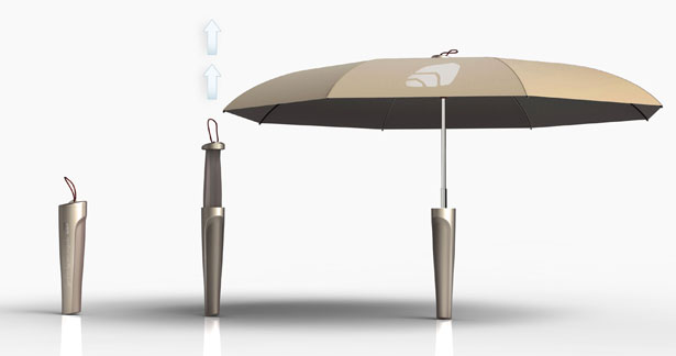 POPI Umbrella by Massimo Battaglia