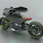 Futuristic PORSCHE 618 Electric Motorcycle Concept Proposal