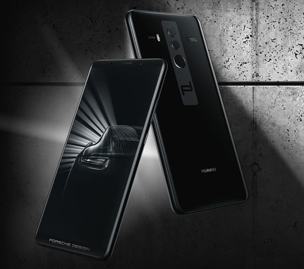 huawei mate10 smartphone by porsche design tuvie. Black Bedroom Furniture Sets. Home Design Ideas